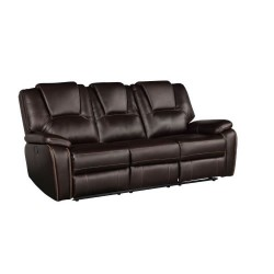 Kate Leather Powered Sofa Series w/ USB Ports (Multiple Colours)