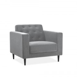 Julia Suede Fabric Chair (Multiple Colours)